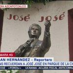 FOTO: Fans recuerdan a José José en el Parque de la China, 28 septiembre 2019