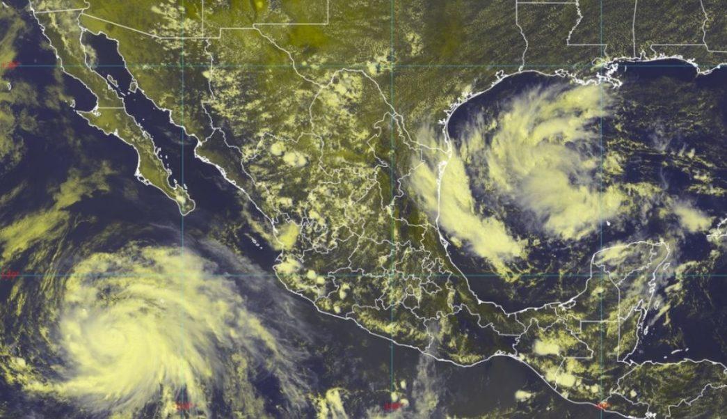 """Foto: El huracán """"Juluette"""" aparece en el occidente de México. SMN"""