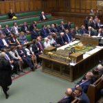 Foto: Sesión en el Parlamento británico. Reuters