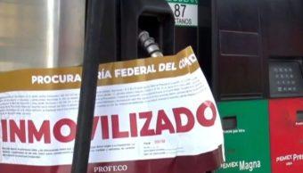 Foto: Profeco clausura gasolineras en Nuevo Laredo