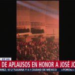 FOTO: Gloria Trevi pide un minuto de aplausos en honor a José José, 27 de septiembre de 2019