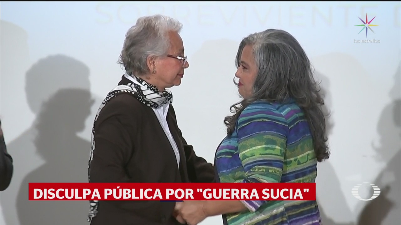 Foto: Gobierno Federal Disculpa Martha Camacho Tortura 23 Septiembre 2019