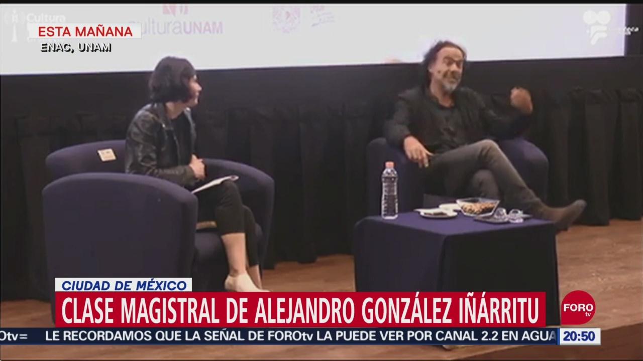 Foto: Iñárritu Comparte Anécdotas Estudiantes Unam 25 Septiembre 2019