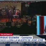 FOTO: Inicios de José José con Enrique Guzmán, 28 septiembre 2019