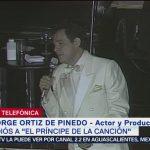 FOTO: Jorge Ortiz de Pinedo despide a José José, 28 septiembre 2019
