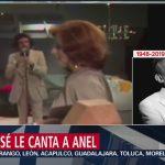 FOTO: José José le cantó 'Buenos días, amor' a Anel, 28 septiembre 2019