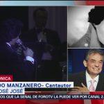FOTO: José José mantuvo su éxito durante varias décadas: Armando Manzanero, 28 septiembre 2019
