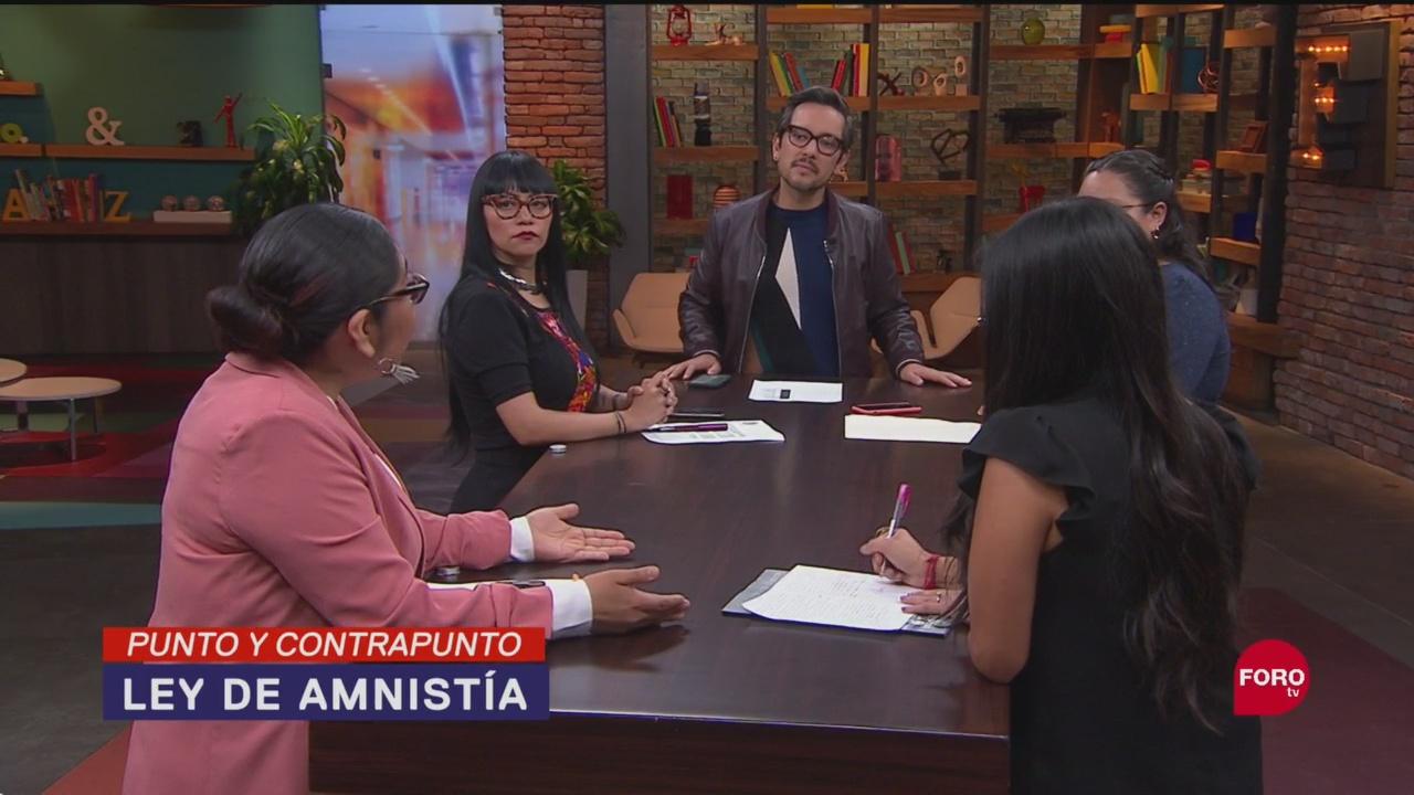 Foto: Morena Aprobación Ley Amnistía 20 Septiembre 2019