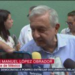 FOTO: López Obrador lamenta muerte de José José, 28 septiembre 2019