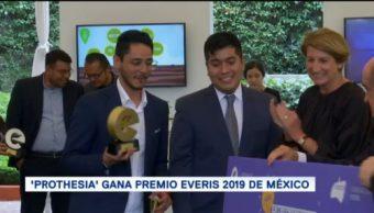 Los ganadores del Premio Everis México 2019