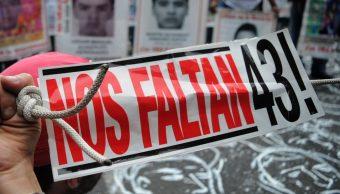 Foto:Marcha por Ayotzinapa en la Ciudad de México. Septiembre 2019