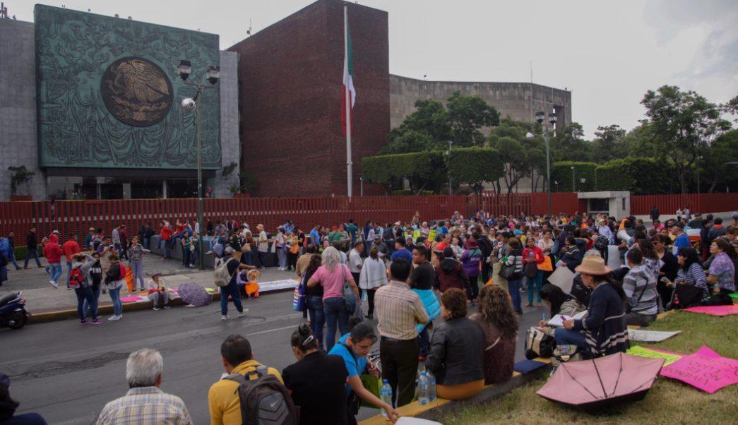 FOTO Marchas previstas este 18 de septiembre en CDMX, CNTE anuncia bloqueo (Mario Jasso/Cuartoscuro)