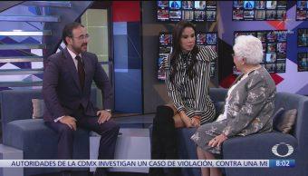 María Guadalupe Peñaloza vende seguros a sus 86 años, entrevista en Al Aire