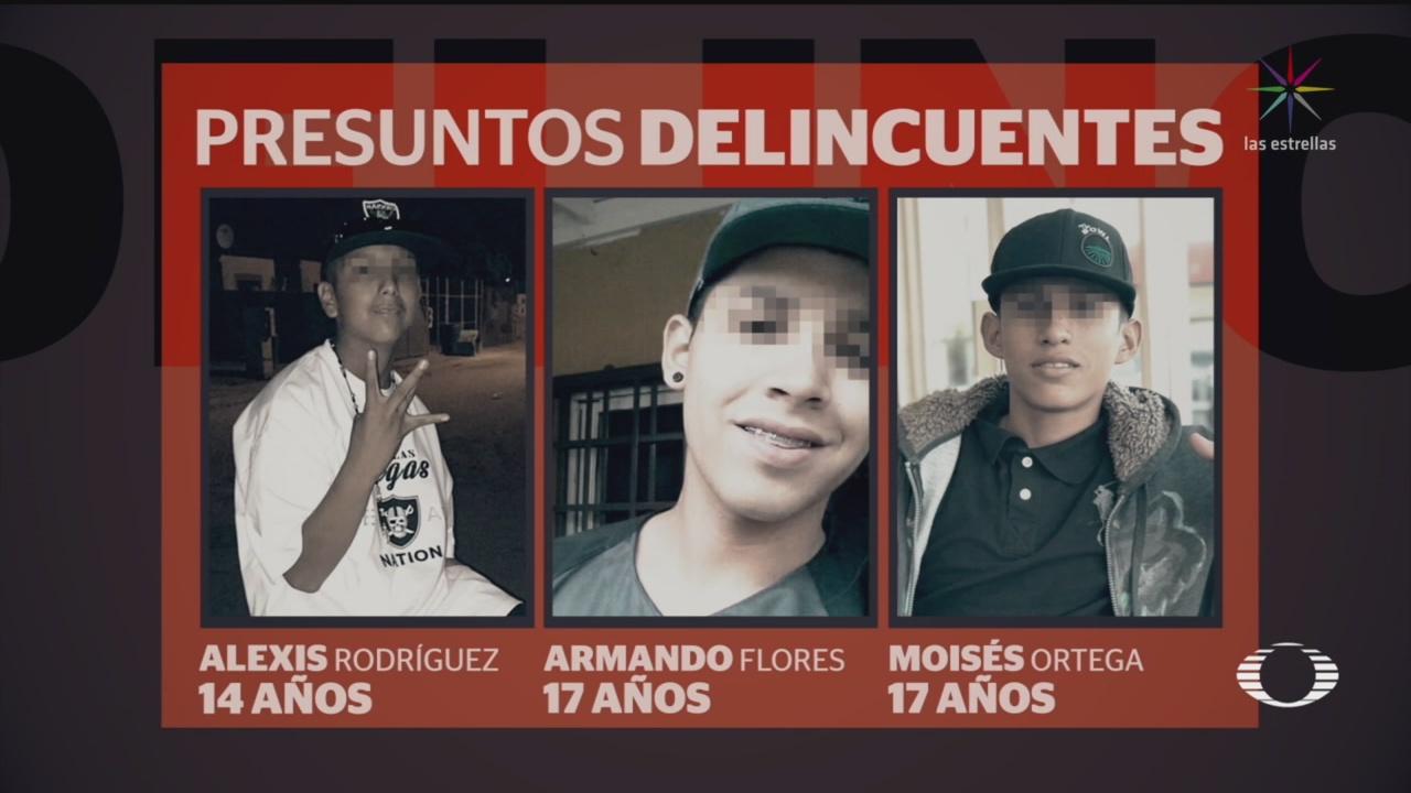 Foto: Menores Edad Reclutamiento Cártel Los Salazar 12 Septiembre 2019