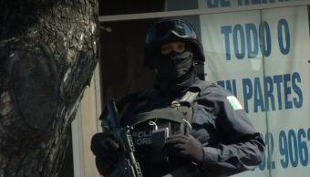 FOTO Morelos no pactará con crimen organizado, dice secretario de Gobierno (Noticieros Televisa)