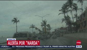 Foto: Narda Provoca Olas Cinco Metros Altura Sinaloa 30 Septiembre 2019