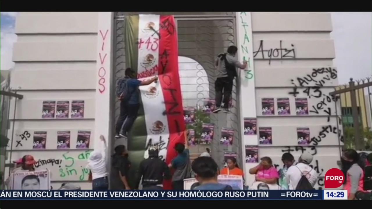 Foto: Normalistas Protestan Chilpancingo Guerrero Hoy 24 Septiembre 2019