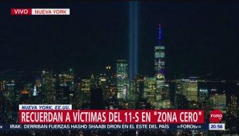 Foto: Nueva York Conmemora Víctimas Atentado 11 Septiembre 11 Septiembre 2019