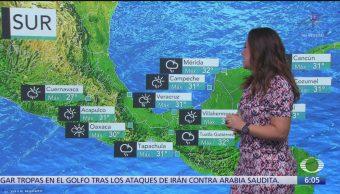 Onda tropical 41 provocará lluvias en México