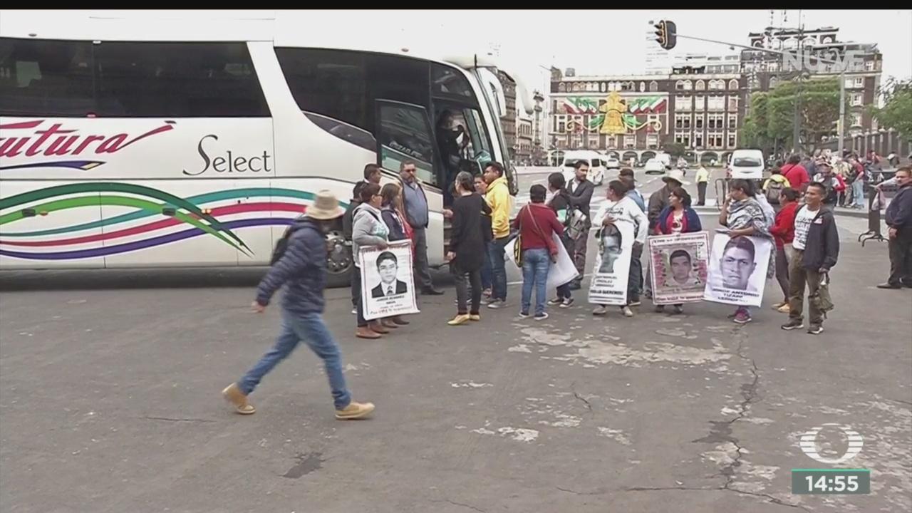 Foto: Padres 43 Normalistas Desaparecidos Asistirán Sesión Diputados 24 Septiembre 2019