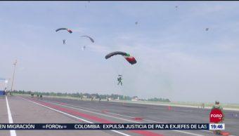 FOTO: Paracaidistas de las Fuerzas Armadas saltarán desde 10 mil pies de altura, 14 septiembre 2019