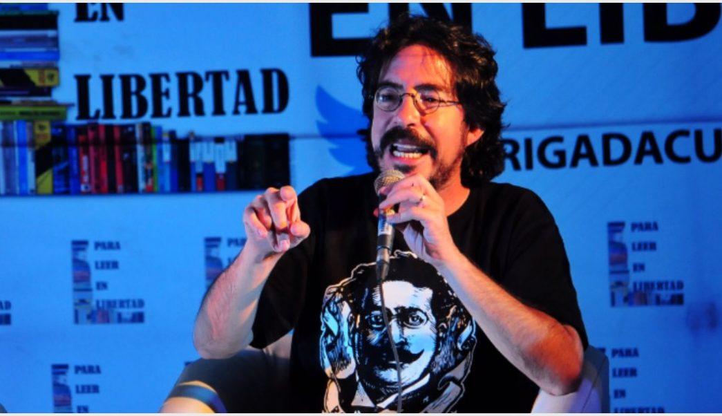 Imagen: Pedro Salmerón presentó sun renuncia al frente del INEHRM, 21 de septiembre de 2019 (DIEGO SIMÓN SÁNCHEZ /CUARTOSCURO.COM)