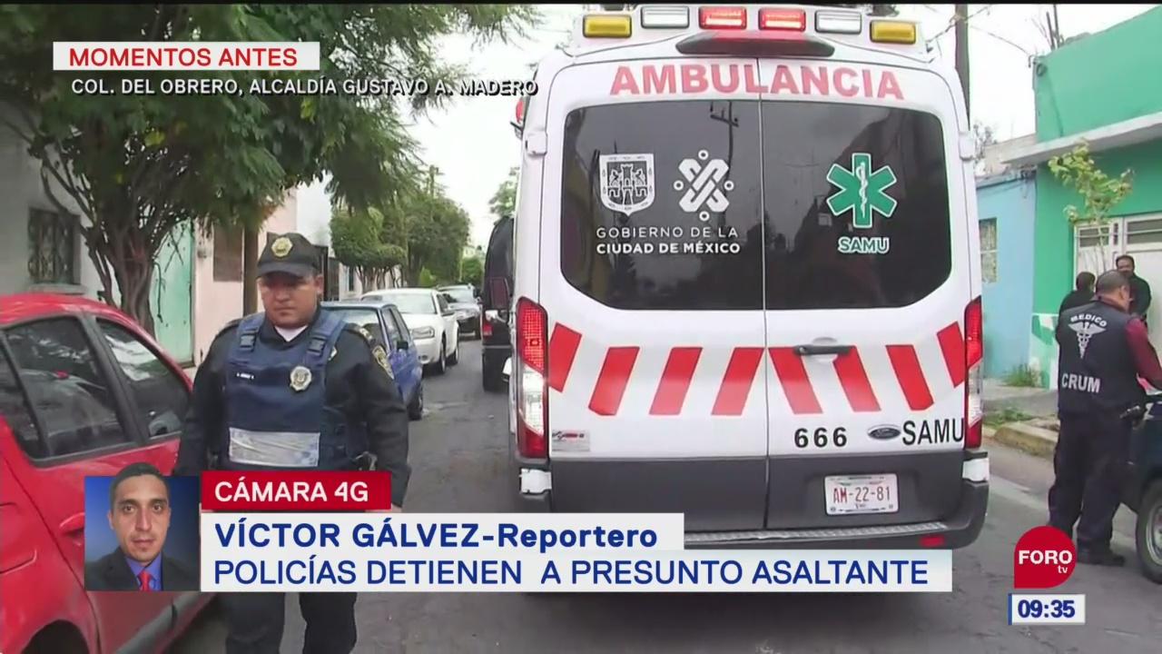 Policías detienen a presunto asaltante en alcaldía GAM