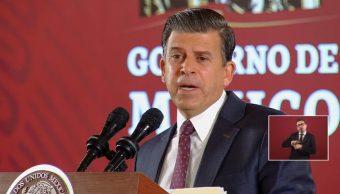Foto: Ricardo Sheffield Padilla, titular de la Procuraduría Federal del Consumidor, 17 de septiembre de 2019, Ciudad de Méxicio