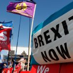 Foto: Protestas a favor del Brexit, 4 de septiembre de 2019, Londres