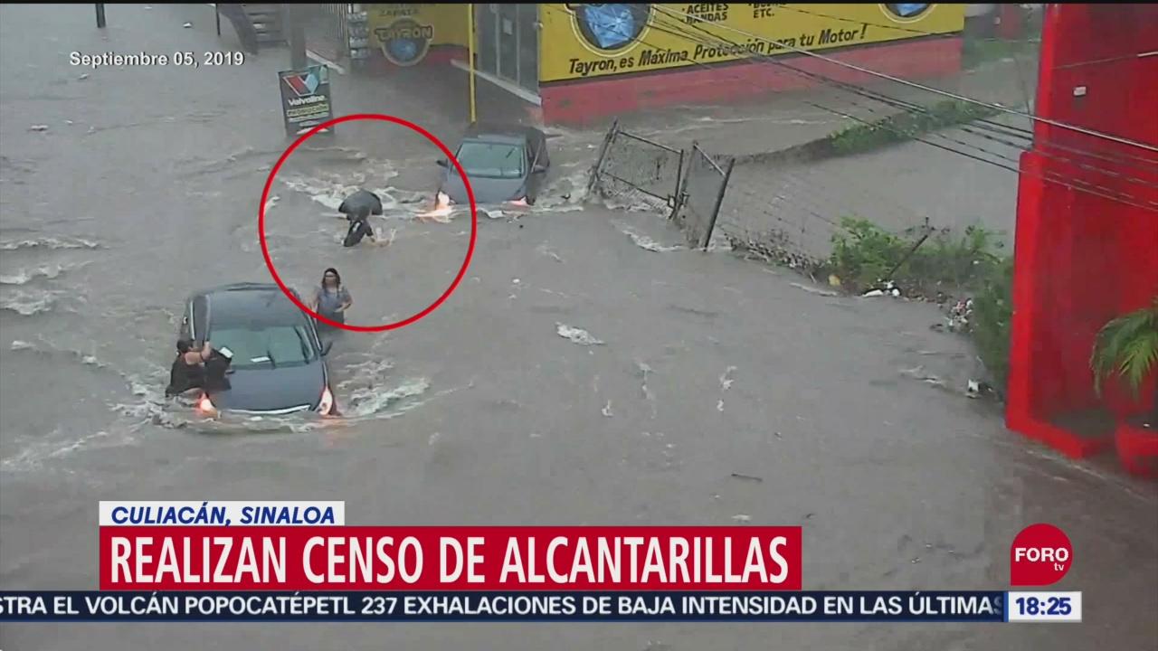 FOTO: Realizan Censo Alcantarillas Culiacán Sinaloa