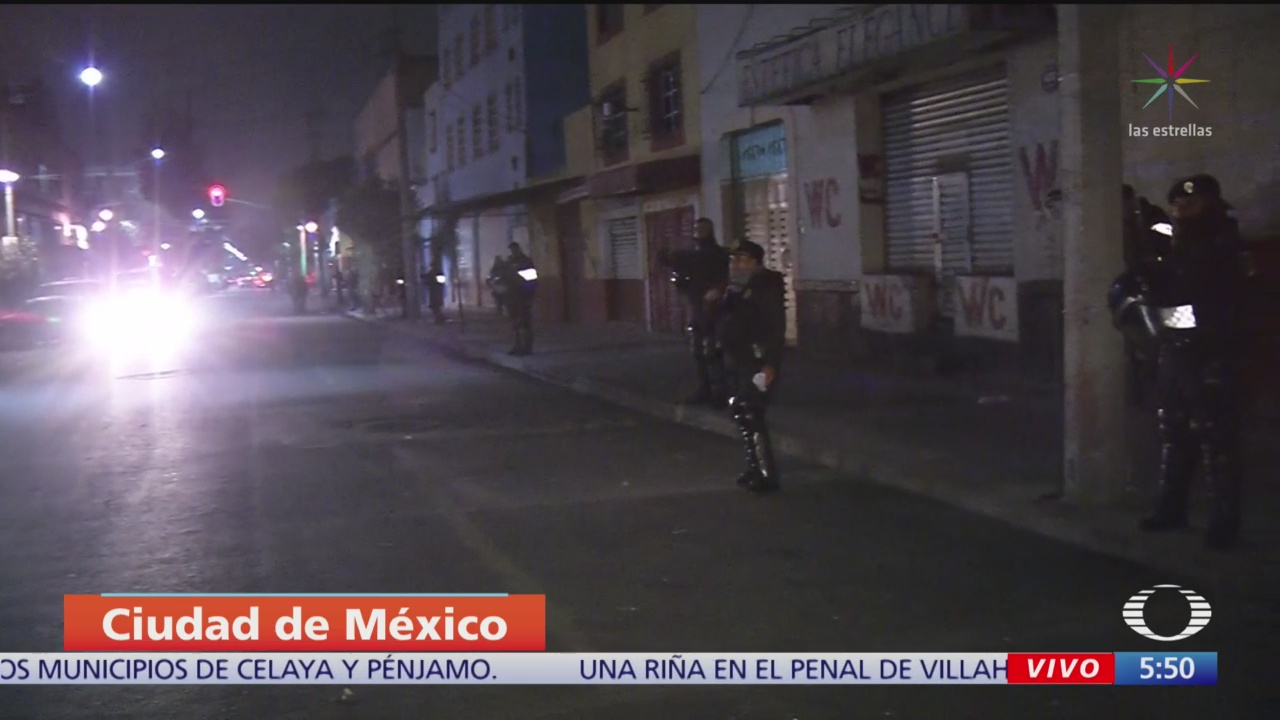 Realizan doble operativo en calles del centro de la CDMX