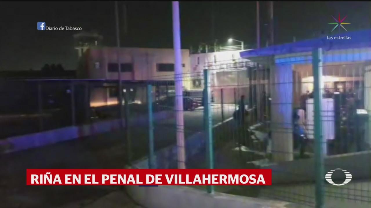 Foto: Riña Penal Villahermosa Tabasco Dos Muertos 23 Septiembre 2019