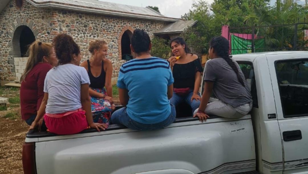 Foto: El colectivo expresó también su deseo de que el vehículo robado no sea utilizado por criminales para dañar a la población de Veracruz ni a las personas migrantes, 10 de septiembre de 2019 (Twitter @LasPatronas_dh)