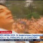 FOTO: Roberto Cantoral Zucchi habla de 'El Triste' de José José, 28 septiembre 2019