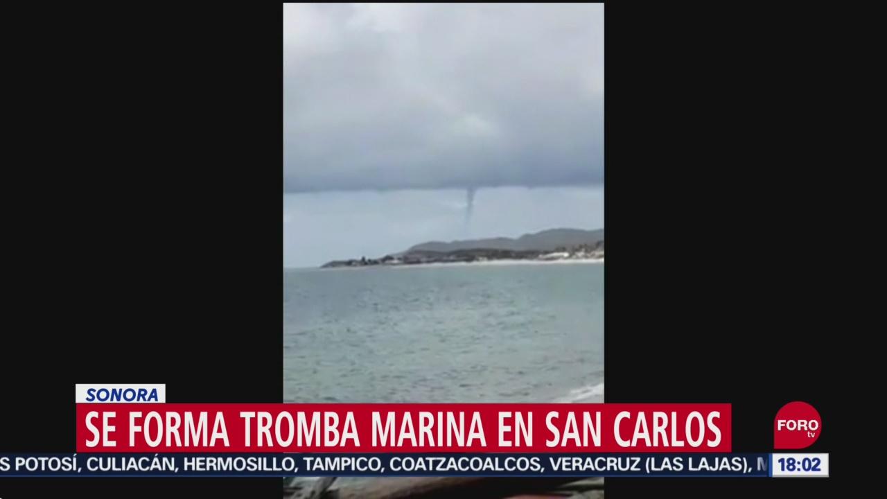 Foto: Video Formación Tromba Marina Sonora 24 Septiembre 2019