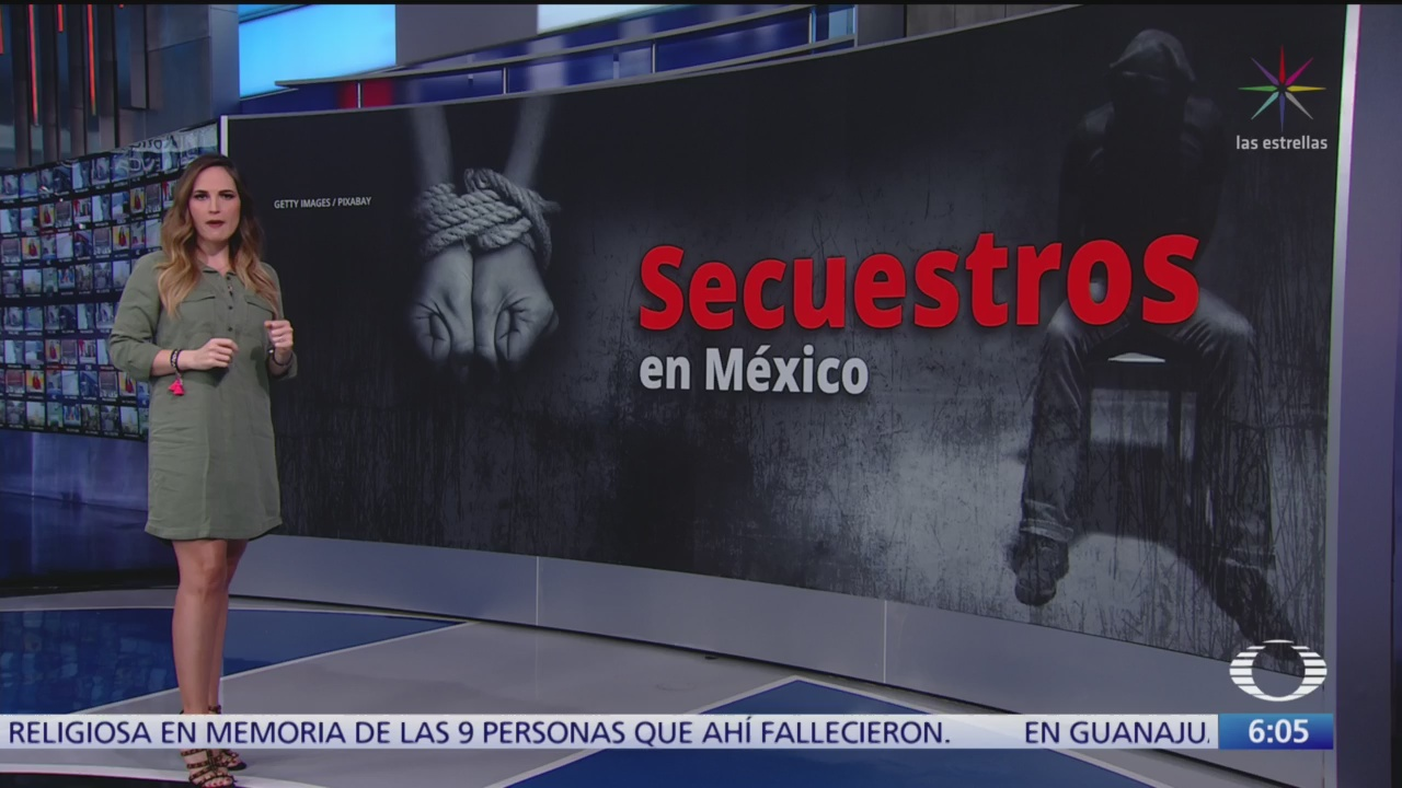 En agosto pasado se denunciaron 142 secuestro en México