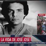 FOTO: Semblanza de la carrera del cantante José José, 28 septiembre 2019