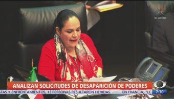 FOTO: Senadores Analizarán Solicitud Desaparición Poderes,