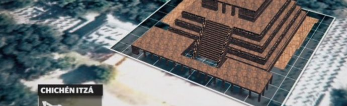 Comienzan trabajos de preservación en templo 'Los Guerreros', en Chichen- Itzá