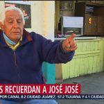 FOTO: Vecinos de Clavería recuerdan a José José, 28 septiembre 2019
