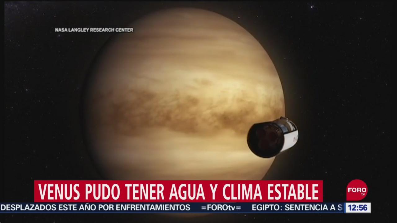 Venus pudo haber tenido agua y clima estable