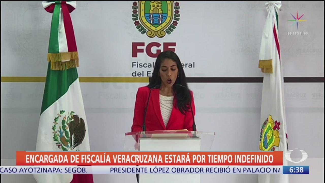 Verónica Hernández, al frente de Fiscalía veracruzana por tiempo indefinido