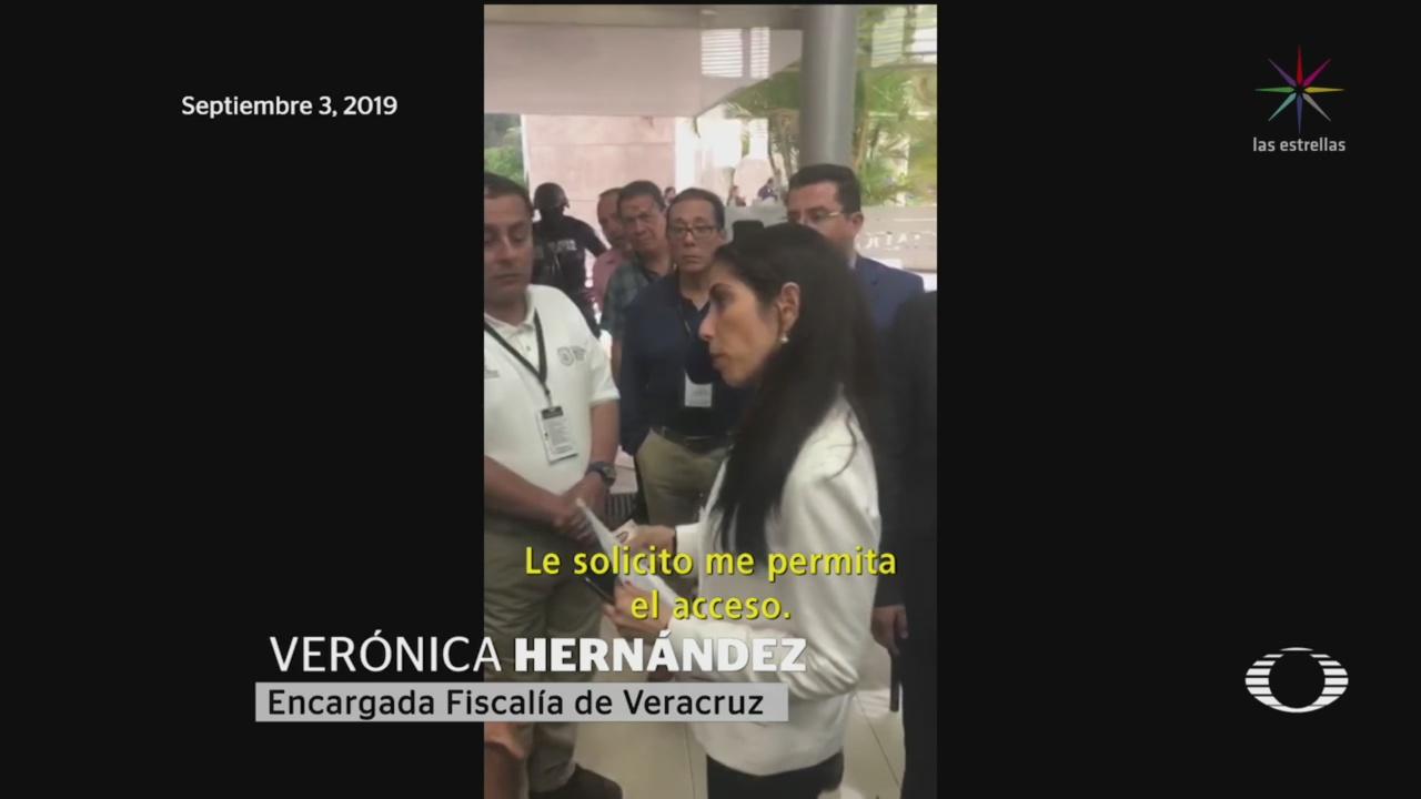 Foto: Verónica Hernández Exige Titularidad Fiscalía Veracruz 4 Septiembre 2019