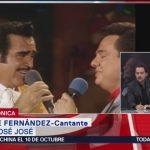 FOTO: Vicente Fernández recuerda las veces que cantó a dueto con José José, 28 septiembre 2019