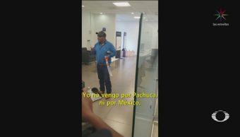 Foto: Video Abaten Sujeto Amenazó Estallar Banamex Pachuca 21 Octubre 2019