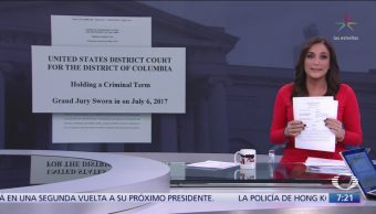 Acusación contra Ovidio Guzmán en Estados Unidos