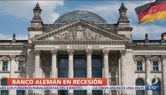 Alemania entró en recesión técnica, según el Banco Central