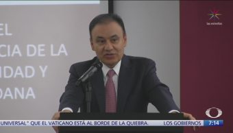 Alfonso Durazo comparecerá en el Senado por operativo en Culiacán
