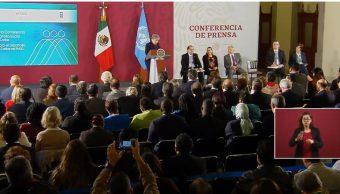 Foto: Alicia Bárcena, 1 de octubre de 2019, Ciudad de México