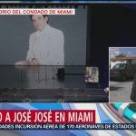 FOTO: Alistan cortejo fúnebre de José José para homenaje en Miami-Dade, 6 octubre 2019